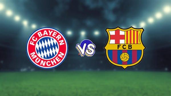 مباراة برشلونة ضد بايرن ميونخ