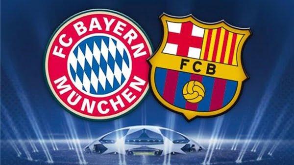 موعد مباراة برشلونة وبايرن ميونيخ